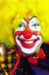Food began to get served over an hour late and the clown announced he had to leave because Paul's parents only paid for 45 minutes.