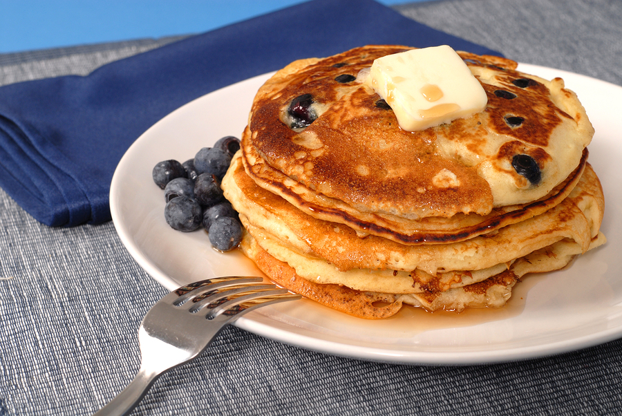 Post image for Start a New Weekend Tradition: Lemon Blueberry Pancakes