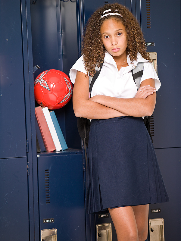 Too many pressures on your teen can stress her out.