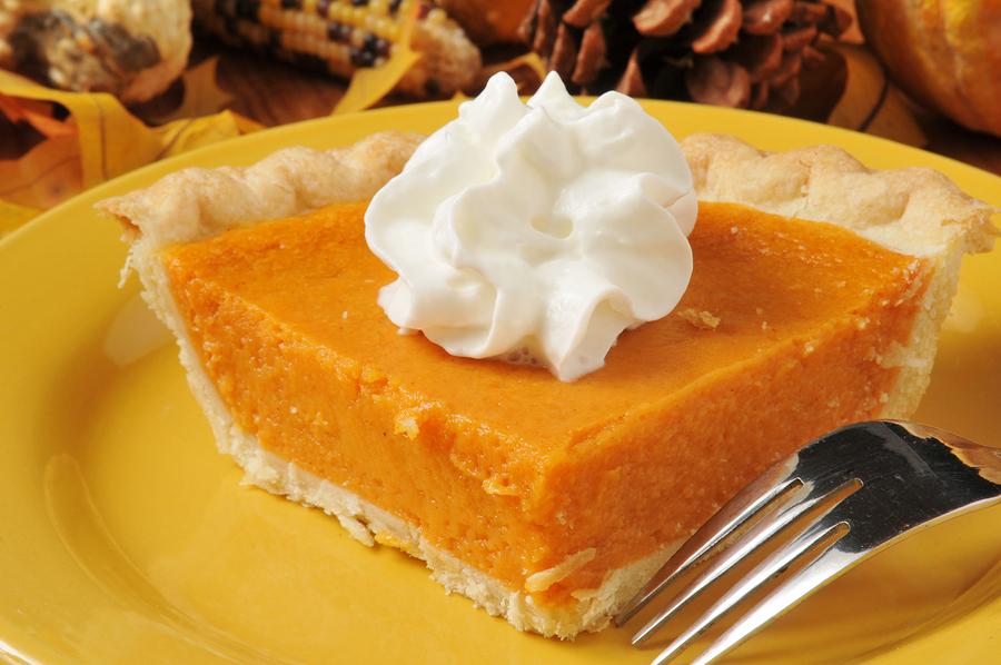 Gorgeous sweet potato pie!